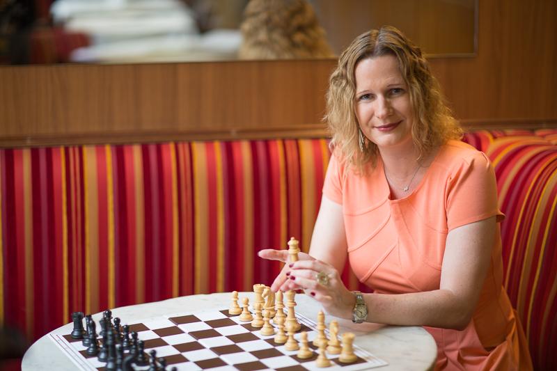 "Dagmar Jenner, die Obfrau von ""Frau Schach"""